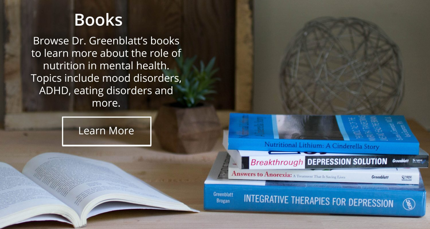 Integrative Psychiatry Books